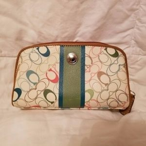 COACH Multicolor makeup bag